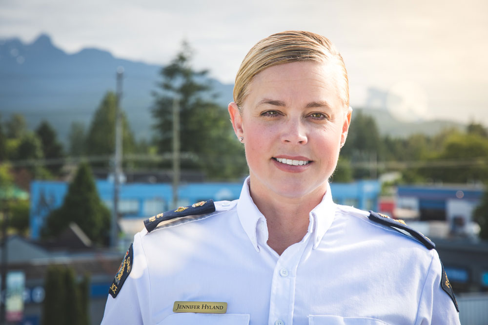 BCWLE BC Women in Law Enforcement Jennifer Hyland Wins International Award