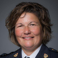 BCWLE BC Women in Law Enforcement Our Councils Michelle Davey