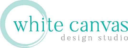 White Canvas Design Logo