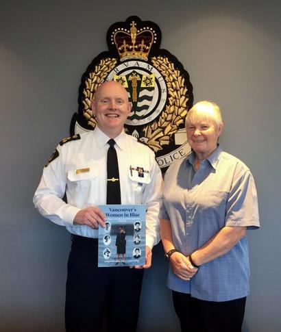 VPD Chief Constable Adam Palmer and Retired Deputy Chief Carolyn Daley 1